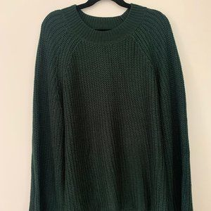 Knit Forest Green Sweater
